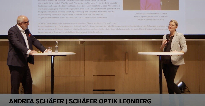 start.me.up 2020 | Gründerin | Interview mit Andrea Schäfer | Schäfer Optik Leonberg