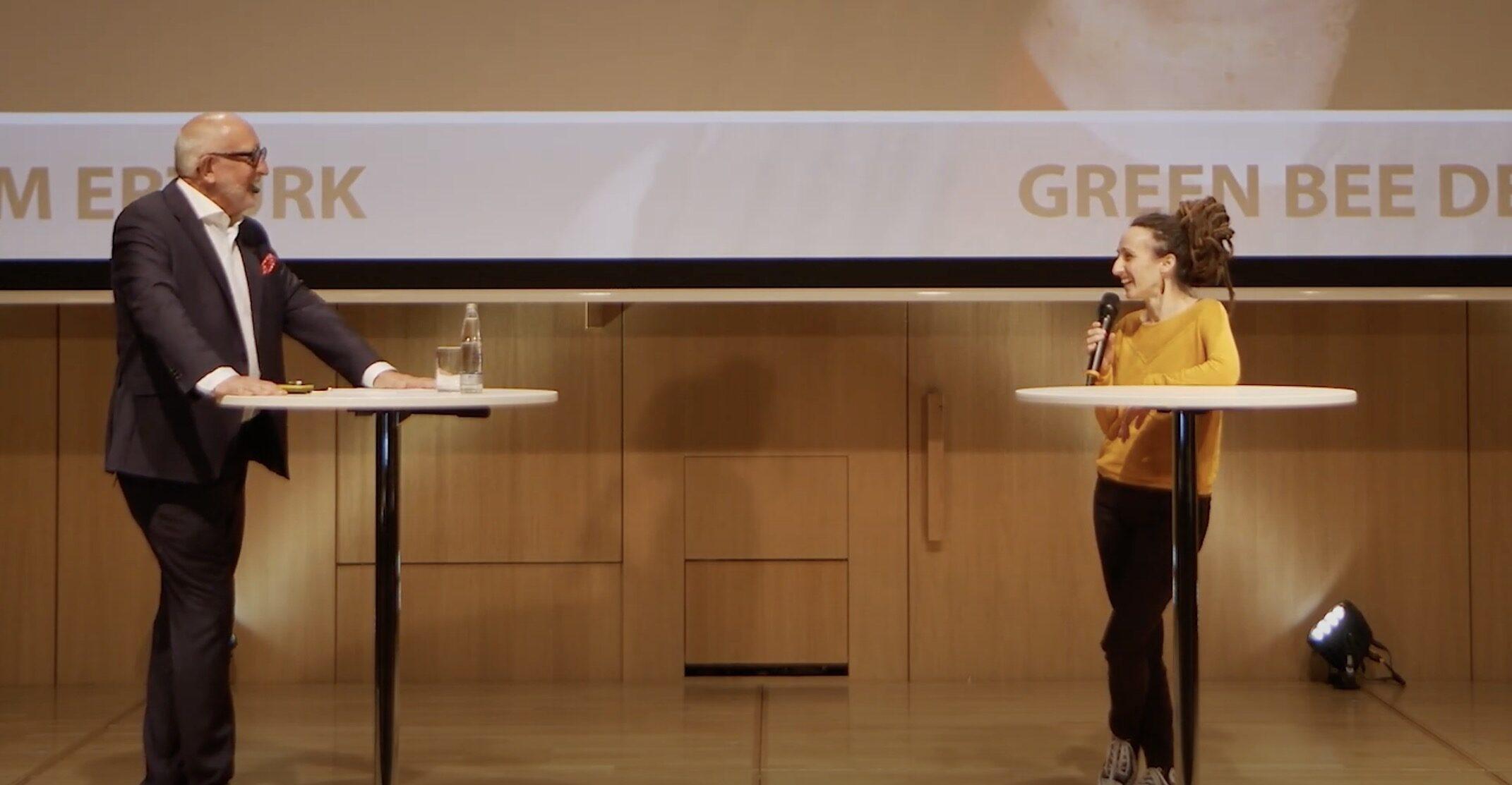 start.me.up 2020 | Gründerin | Interview mit Sinem Ertürk | green bee design