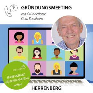 Gründungsmeeting in Herrenberg mit Gründerlotse Gerd Bockhorn