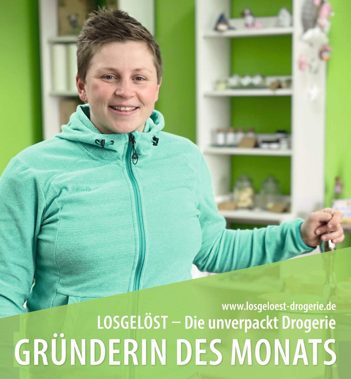 Jule Hirsch Gründerin der Losgelöst unverpackt Drogerie
