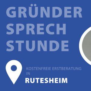 Gründersprechstunde in Rutesheim