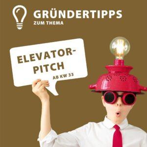 Gründertipps Elevator Pitch