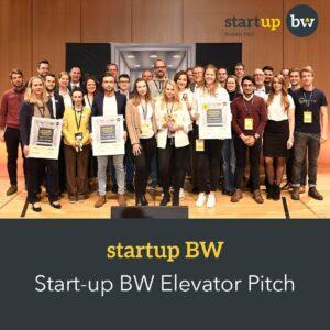 Startup BW Elevator Pitch