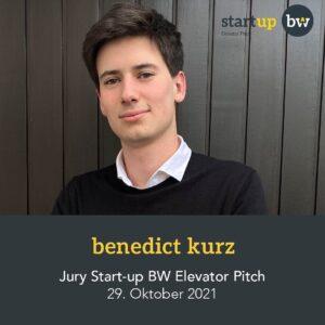 Benedict Kurz - Start-up Jury