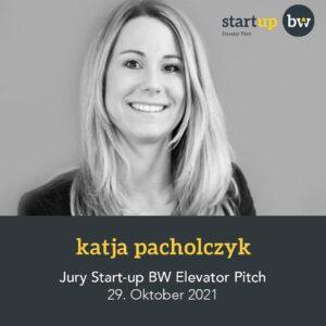 Katja Pacholczyk - Start-up Jury